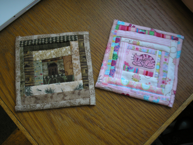 finished coasters